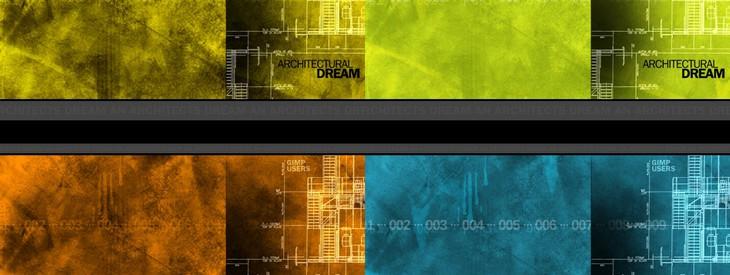 Ein Architekt Grunge Wallpaper Designen