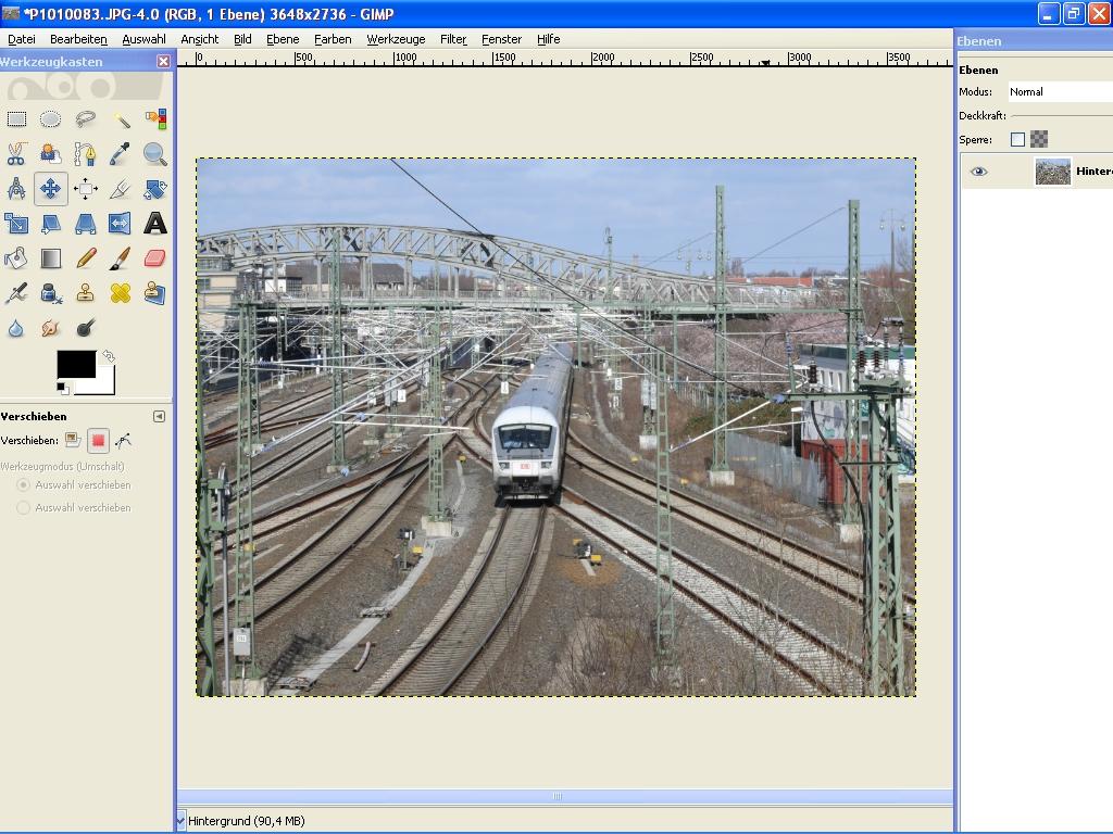 Gimp(1) image change/paint program - Linux man page