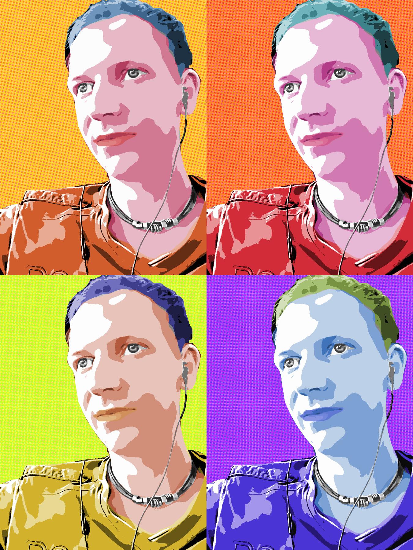 Pop Art Effekt Im Andy Warhol Stil Tutorials Gimpusersde